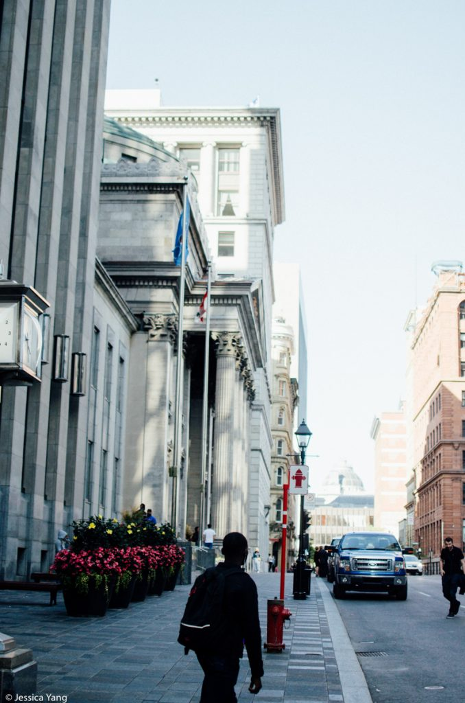 Street in Old Montreal | byjessicayang.com