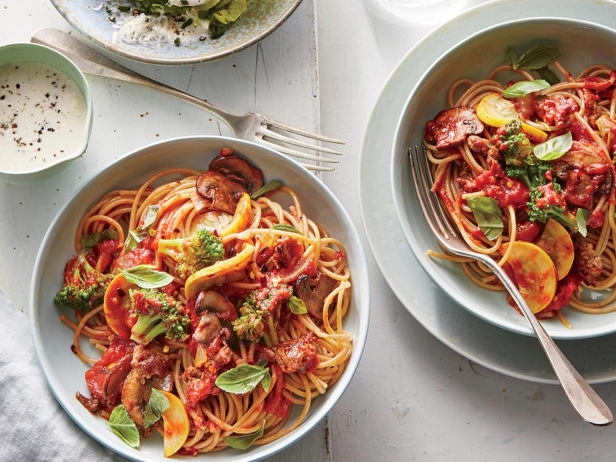Mostly Veggie Pasta