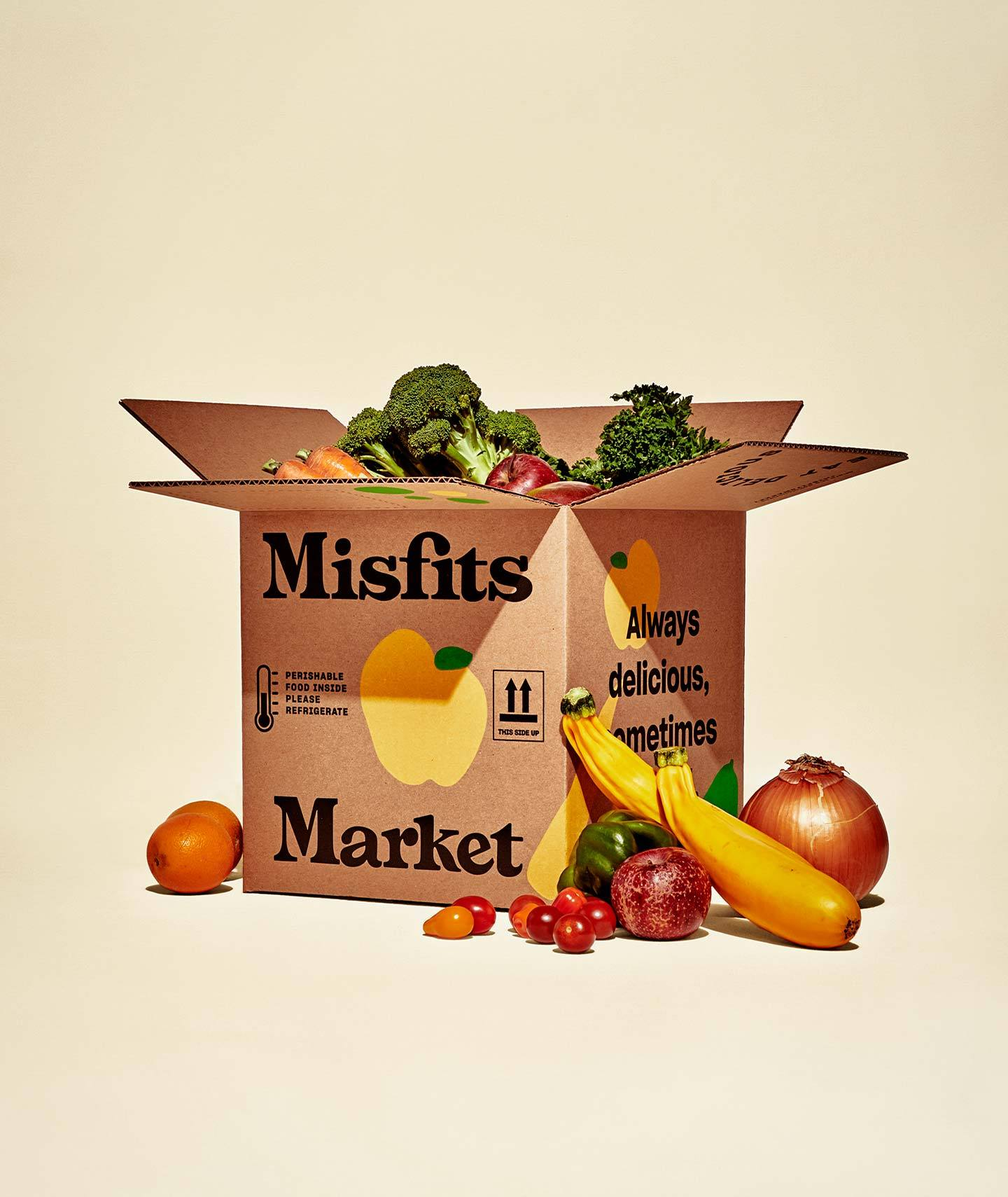 Misfit Market Marketing Collateral