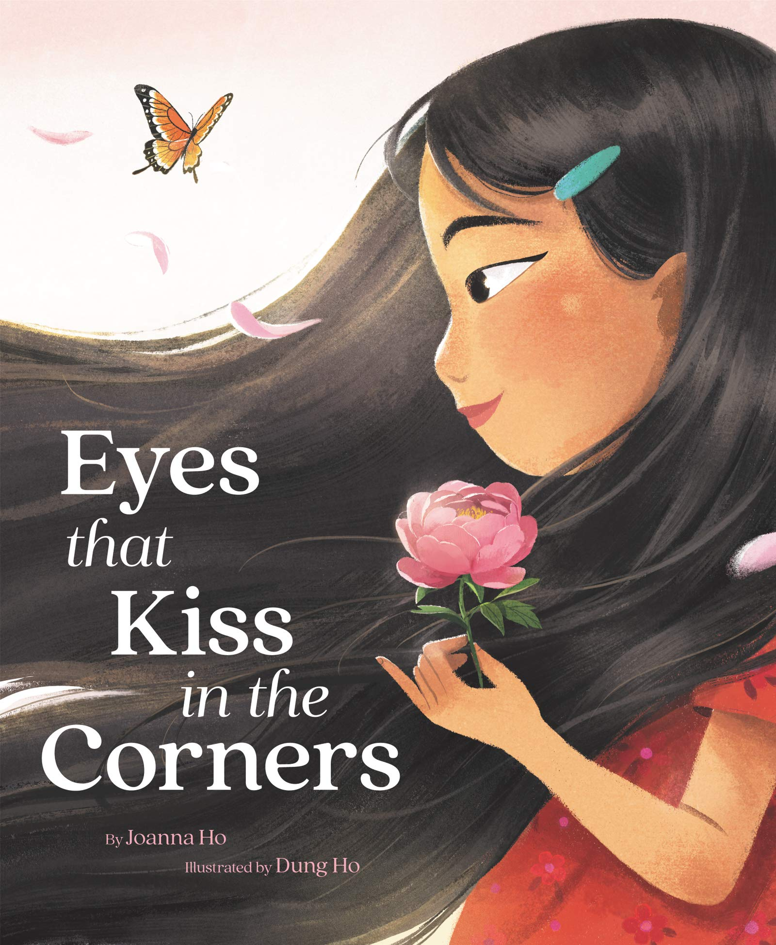 Eyes that Kiss in the Corners by Joanna Ho cover