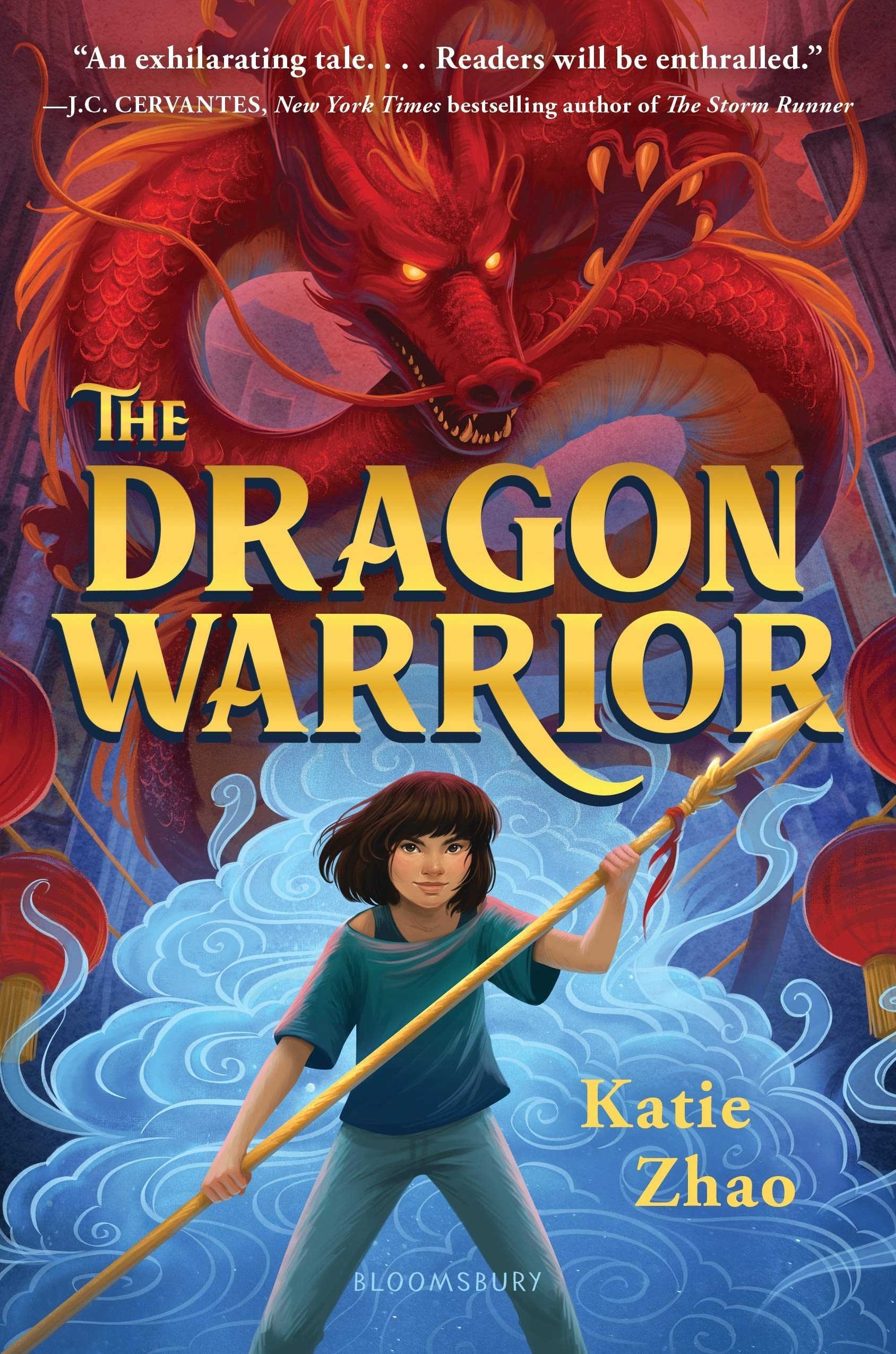 Dragon Warrior by Katie Zhao