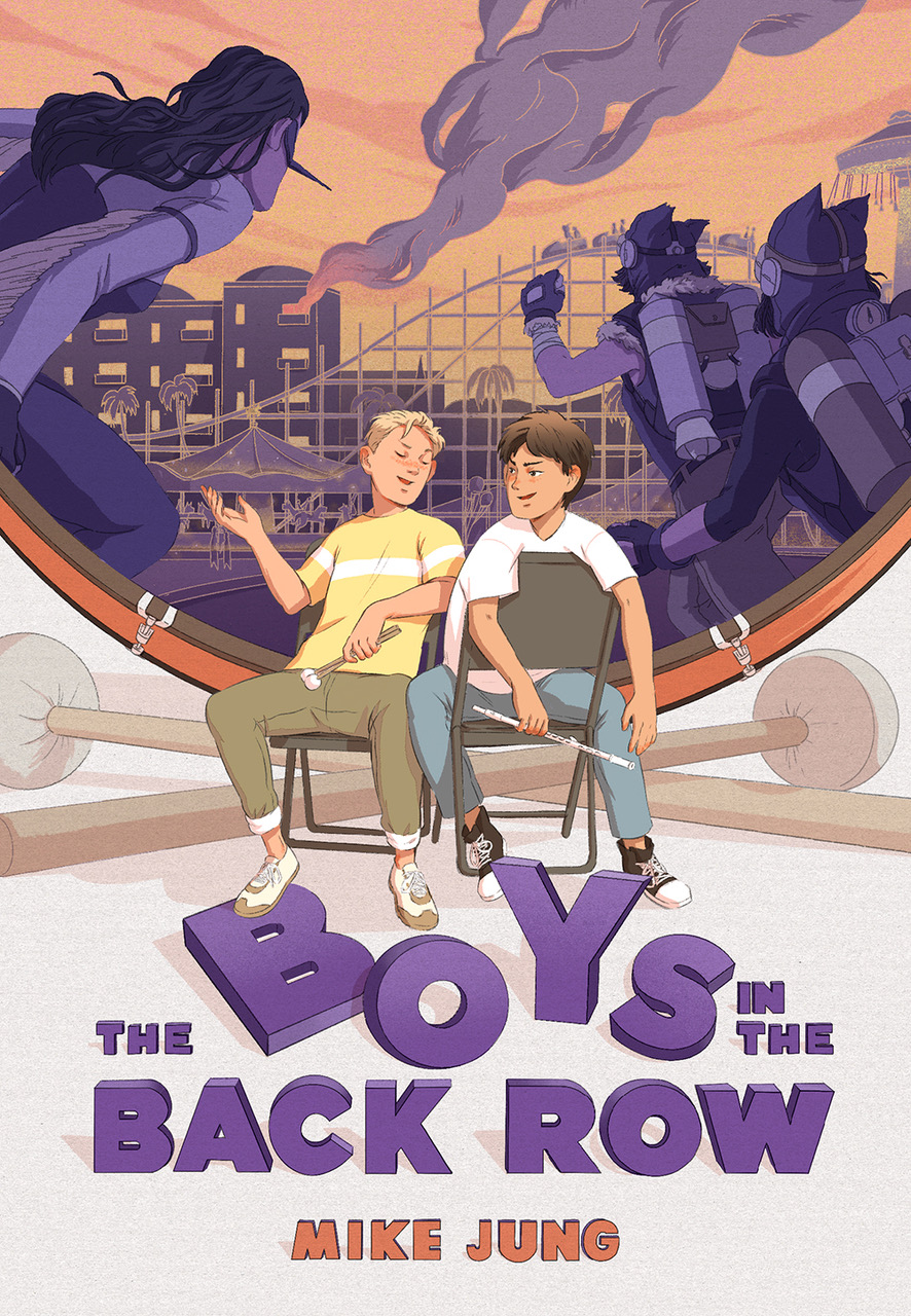 Boys in the Back Row by Mike Jung