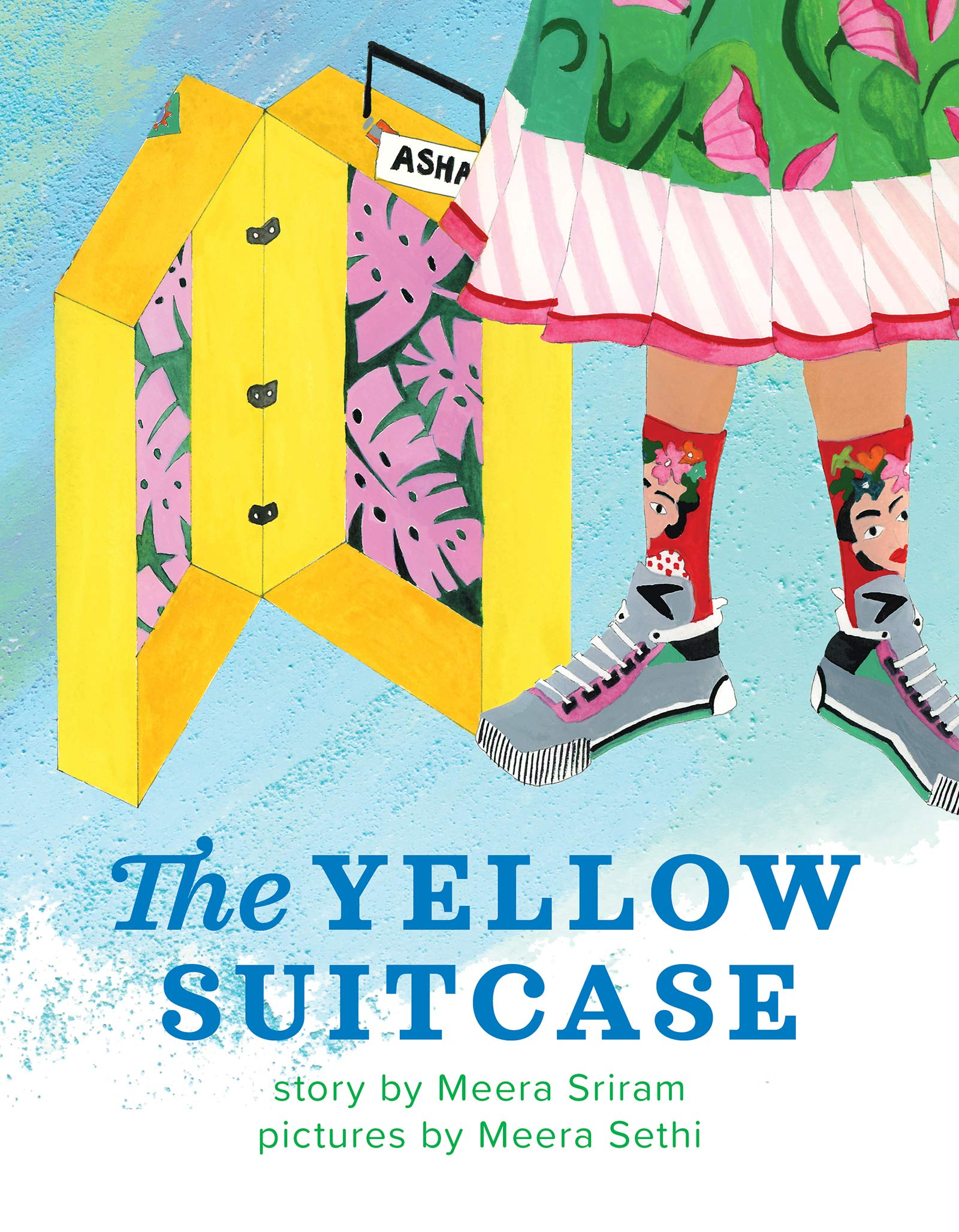 The Yellow Suitcase by Meera Sriram