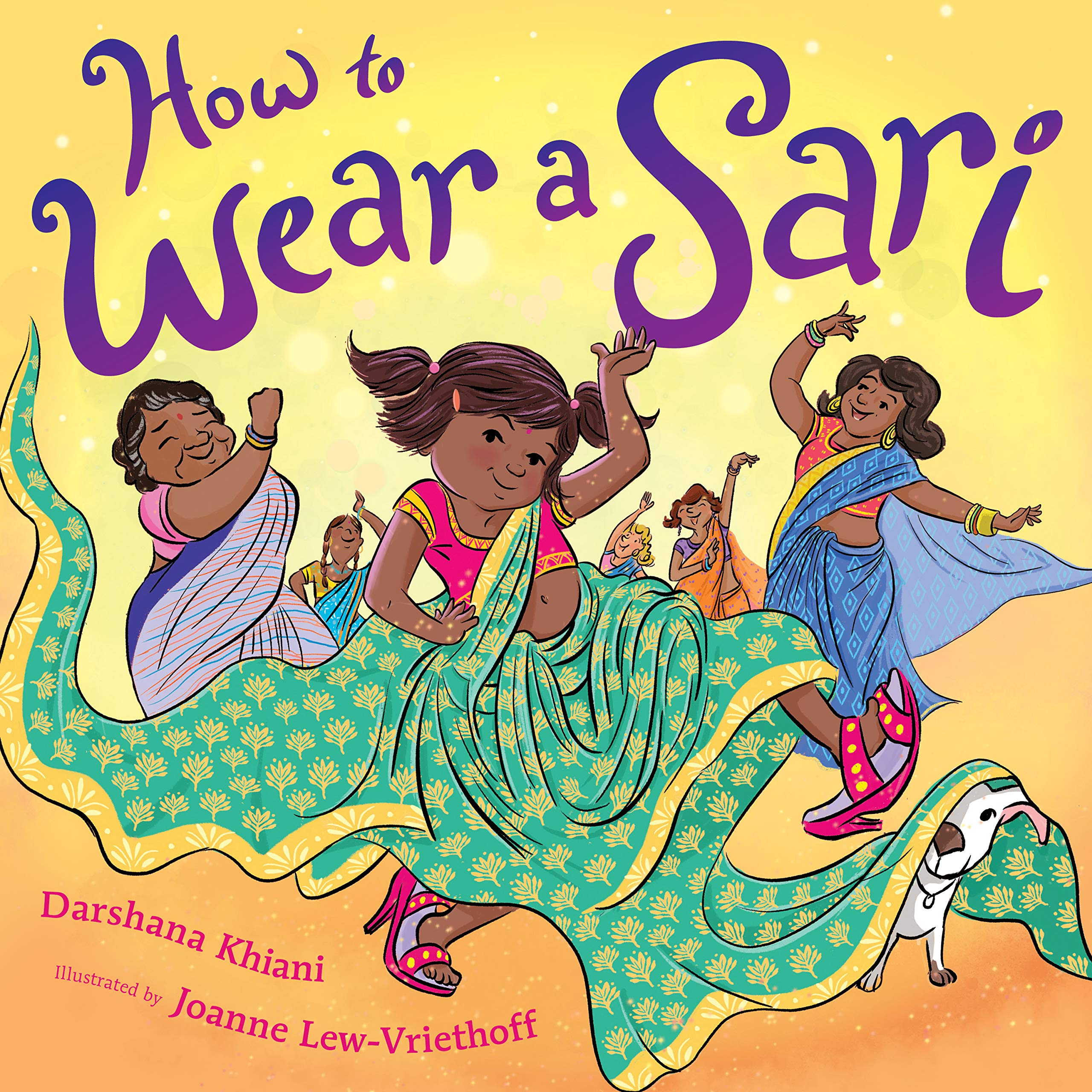 How to Wear a Sari by Darshana Khiani